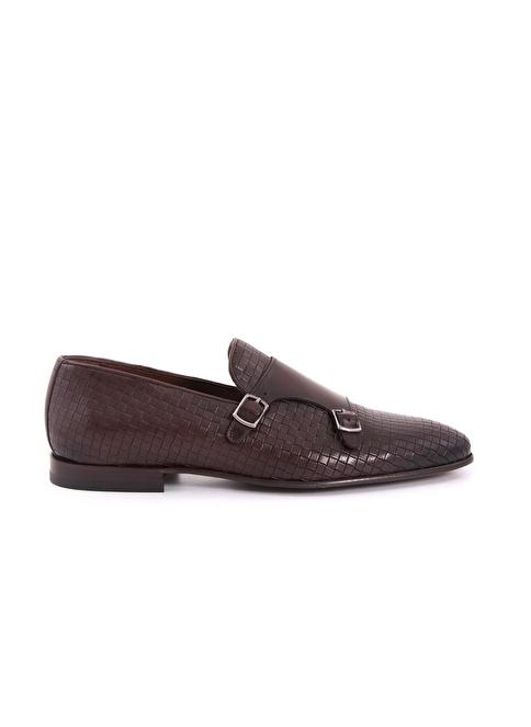 Kemal Tanca %100 Deri Klasik Ayakkabı Kahve